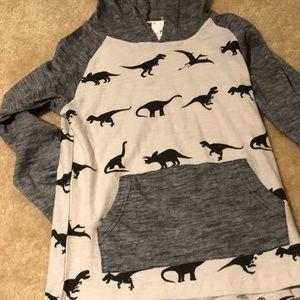 Dino hoodie long sleeve